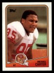 1988 Topps #47  Michael Carter  Front Thumbnail