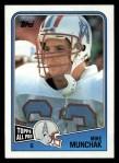 1988 Topps #110  Mike Munchak  Front Thumbnail