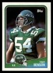 1988 Topps #311  Troy Benson  Front Thumbnail