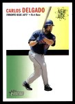 2004 Topps Heritage New Age Performers #10  Carlos Delgado  Front Thumbnail