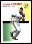 2004 Topps Heritage New Age Performers #14  Vladimir Guerrero  Front Thumbnail