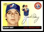 2004 Topps Heritage #119  Zach Day  Front Thumbnail