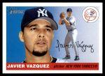 2004 Topps Heritage #199  Javier Vazquez  Front Thumbnail