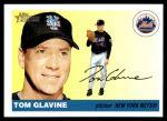 2004 Topps Heritage #225  Tom Glavine  Front Thumbnail