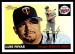 2004 Topps Heritage #242  Luis Rivas  Front Thumbnail