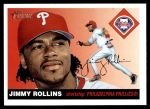 2004 Topps Heritage #341  Jimmy Rollins  Front Thumbnail