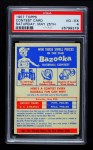 1957 Topps   CC2 Contest Card May 25th Front Thumbnail