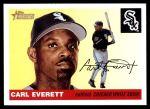 2004 Topps Heritage #409  Carl Everett  Front Thumbnail