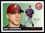 2004 Topps Heritage #433  Josh Labandeira  Front Thumbnail