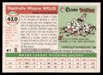 2004 Topps Heritage #410  Dontrelle Willis  Back Thumbnail