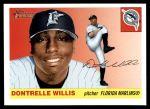 2004 Topps Heritage #410  Dontrelle Willis  Front Thumbnail