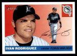 2004 Topps Heritage #416  Ivan Rodriguez  Front Thumbnail