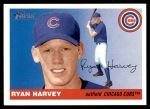 2004 Topps Heritage #411  Ryan Harvey  Front Thumbnail