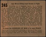 1938 Horrors of War #245   Japs Wrest Hilltop from Soviets in Fight Back Thumbnail