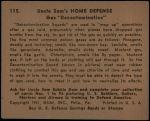 1941 Uncle Sam #115   Gas Decontamination Back Thumbnail