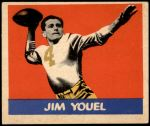 1949 Leaf #57  Jim Youle  Front Thumbnail