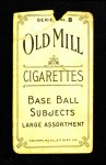 1910 T210-8 Old Mill Southern League  Griffin  Back Thumbnail