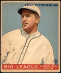 1933 Goudey #130  Fred Fitzsimmons  Front Thumbnail