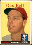 1958 Topps #75  Gus Bell  Front Thumbnail