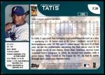 2001 Topps Traded #31 T Fernando Tatis  Back Thumbnail