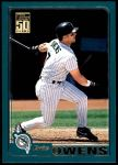 2001 Topps Traded #73 T Eric Owens  Front Thumbnail