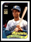 2001 Topps Traded #132 T  -  Ken Griffey Jr. 89  Front Thumbnail