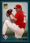 2001 Topps Traded #159 T Carlos Silva  Front Thumbnail