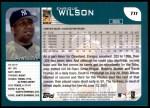 2001 Topps Traded #11 T Enrique Wilson  Back Thumbnail