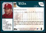 2001 Topps Traded #159 T Carlos Silva  Back Thumbnail