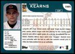 2001 Topps Traded #185 T Austin Kearns  Back Thumbnail