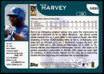 2001 Topps Traded #209 T Ken Harvey  Back Thumbnail