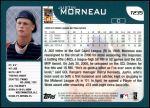 2001 Topps Traded #235 T Justin Morneau  Back Thumbnail
