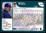 2001 Topps Traded #244 T Dominic Rich  Back Thumbnail