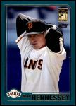 2001 Topps Traded #256 T Brad Hennessey  Front Thumbnail