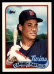 1989 Topps Traded #18 T Carmen Castillo  Front Thumbnail