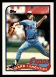 1989 Topps Traded #66 T Mark Langston  Front Thumbnail