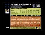 2007 Topps Update #190  Eulogio De La Cruz  Back Thumbnail