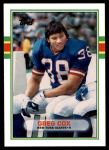 1989 Topps Traded #18 T Greg Cox  Front Thumbnail