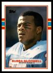 1989 Topps Traded #19 T Bubba McDowell  Front Thumbnail