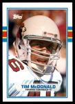 1989 Topps Traded #21 T Tim McDonald  Front Thumbnail