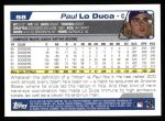 2004 Topps #58  Paul Lo Duca  Back Thumbnail
