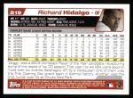 2004 Topps #219  Richard Hidalgo  Back Thumbnail
