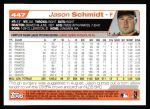 2004 Topps #447  Jason Schmidt  Back Thumbnail