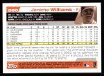 2004 Topps #580  Jerome Williams  Back Thumbnail