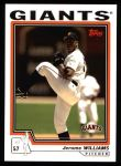 2004 Topps #580  Jerome Williams  Front Thumbnail