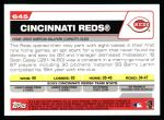 2004 Topps #645   Cincinnati Reds Team Back Thumbnail