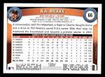 2011 Topps #66  R.A. Dickey  Back Thumbnail