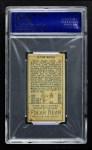 1911 T205  Clyde Engle  Back Thumbnail