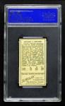 1911 T205  Arnold Hauser  Back Thumbnail