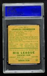1938 Goudey Heads Up #241 / #265 Charley Gehringer  Back Thumbnail